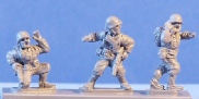 15mm WW2 US figures  - Platoon command
