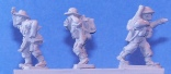 15mm WW2 miniatures - 14th Army Command figures