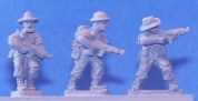 15mm WW2 miniatures - 14th Army SMG's