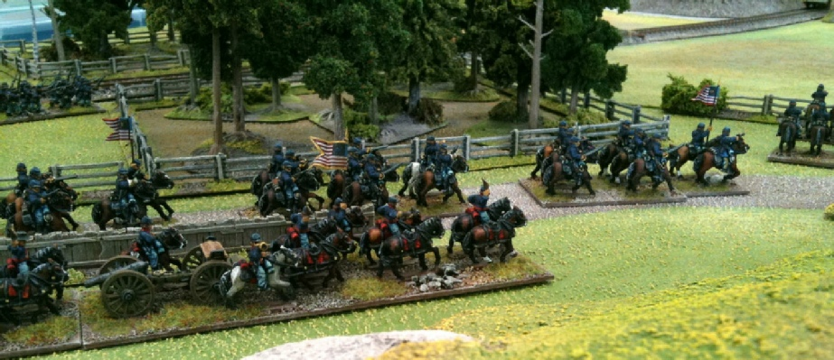 15mm ACW figures - artillery teams